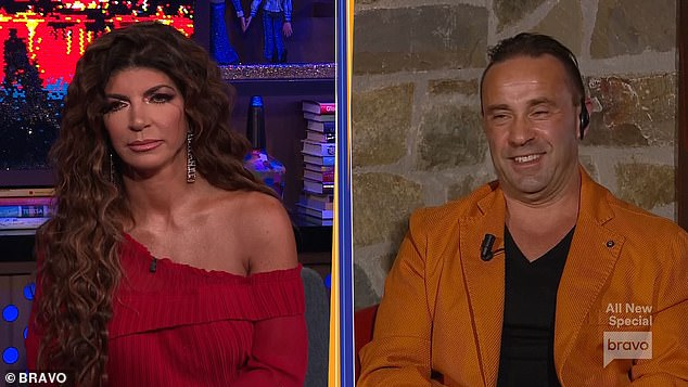 TV star :Andy asked them if they regretted being on the show, to which Teresa said no