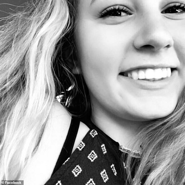 Police confirmed that Eubanks Jr was responsible for the murder of Mississippi teen Baylee Wall (pictured), whose body was found in Cincinnati, Ohio, on October 23