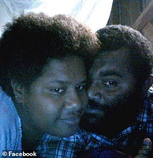 How did he die? Police and Safe Work NSW are investigating how gardener Samuela Cirivakaywawa, 40, died. Above, he is seen with ex-wife Venaisi Nadore, who fears he may have died by suicide as she waits for answers