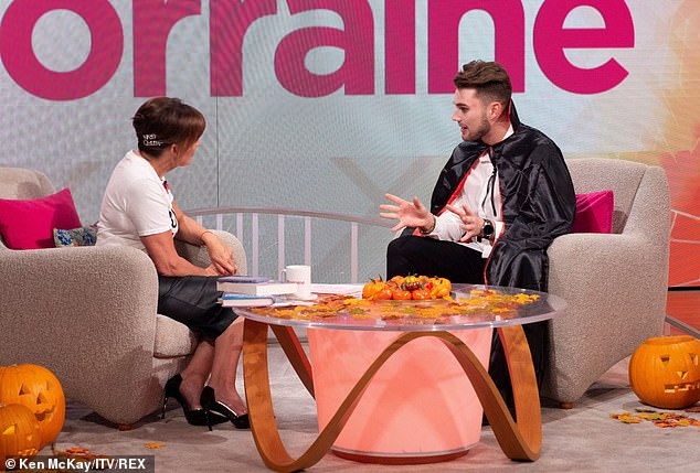 Curtis explained on Thursday's episode of Lorraine: 'We wanted it to become a real relationship, because obviously in the villa... I don't wanna say it's not real, but it's a different world. It's a bubble'