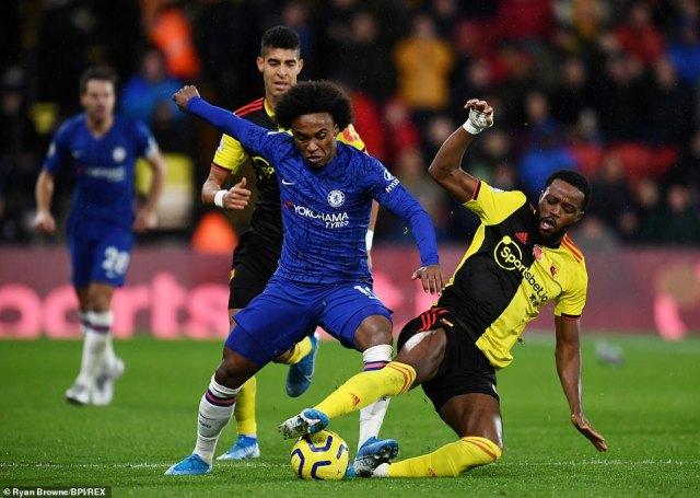 Watford 1-2 Chelsea: Tammy Abraham shines as Frank Lampard's men ...