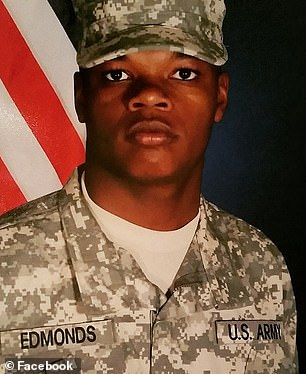 Edmonds is a veteran who served in the United States Army