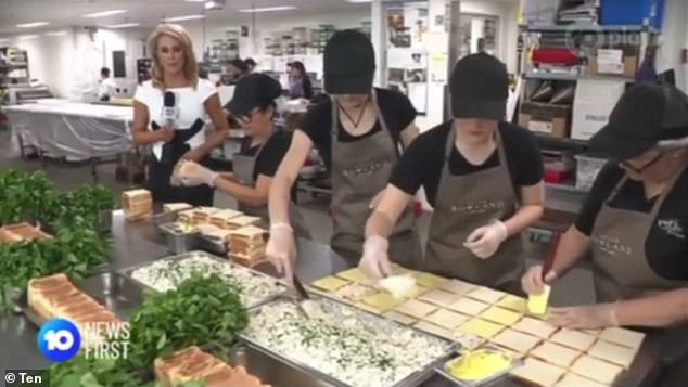 The Peter Rowland Group is expected to serve more than 20,000 chicken sandwiches at Melbourne Cup on Tuesday - enough to circle the race track twice