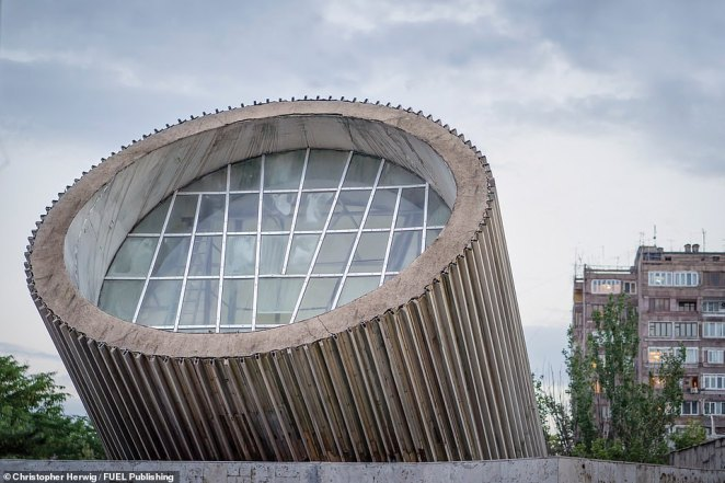 In the capital of Armenia, Yerevan, many of the metro stations feature highly original designs. Yeritasardakan, which was created by architect Stepan Kyurkchyan and opened in March 1981, is one of them