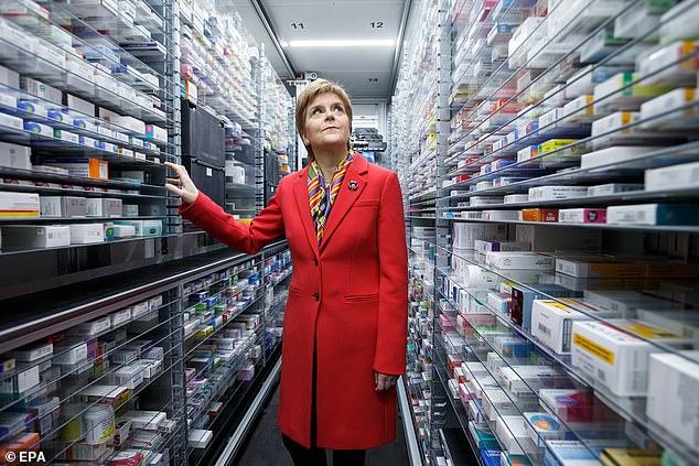 Ms Sturgeon said she would debate Mr Corbyn and Mr Johnson 'anywhere, anytime'