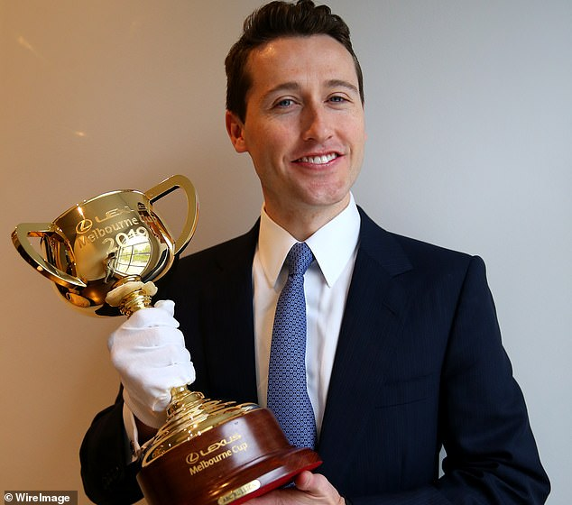 Former bookmaker-turned-tipster Tom Waterhouse has put $10,000 on outsider The Chosen One to win the Melbourne Cup