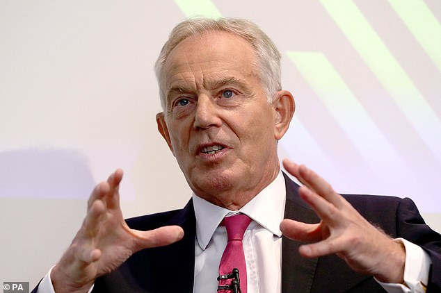 Tony Blair, the most successful Labour leader since Harold Wilson, issued a powerful plea for tactical voting
