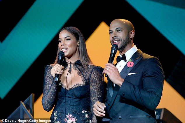 Bliss: Rochelle and Marvin appeared to be enjoying themselves as they chatted to the crowds