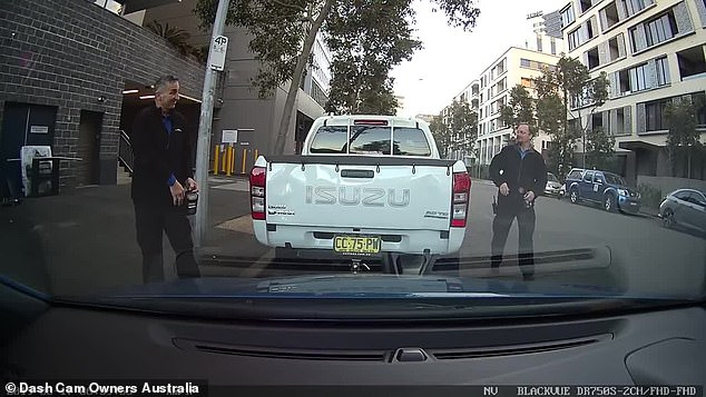 In August, social media users called out a Sydney ranger for crashing into a stationary car while trying to park before walking away without leaving any details