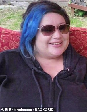 Another transformation: After her third boob job, Gia ballooned up to 300 pounds (pictured). She ended up having gastric bypass surgery to lose weight
