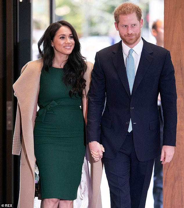 The duchess, pictured with Prince Harry in London last month, is planning a visit to the US at Thanksgiving. Her uncle currently lives in a modest trailer park home in Palm Bay, Florida, and says he's lost hope he'll ever hear from his niece again