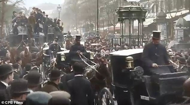 Filmed between 1900 and 1914, some shots were captured more than 110 years ago