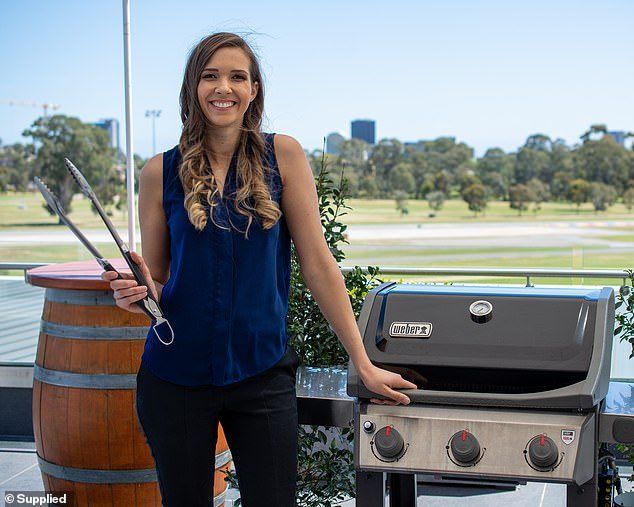 Australianbarbecue expertLaura Romeo (pictured) shares the signs of a 'bogan' barbecue. Ms Romeo is the recipe and content developer for Weber - an iconic barbecue appliance brand