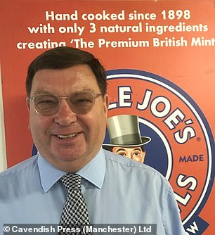 John Winnard, Joint Managing Director of the firm based in Wigan, revealed latest sales of its Mint Balls were up by 10 per cent