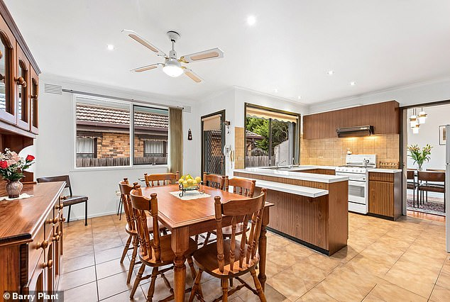 The agent overseeing the property said being on a main road it was a no-brainer to run the auction on the notoriously quiet Melbourne Cup long weekend
