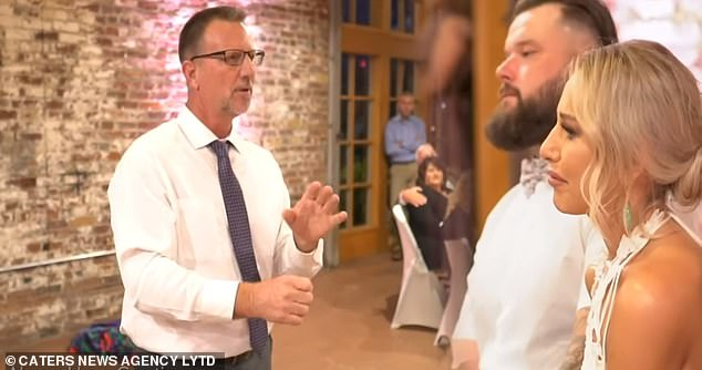 A father who was giving a speech at his daughter's wedding, surprised her with a tear-jerking rendition of a song through the medium of sign language