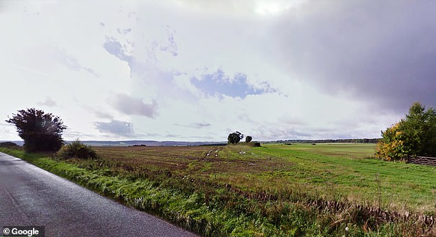 The area of land in Oxfordshire where Clarkson wants to build a farm shop and lambing shed