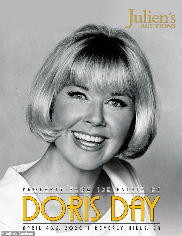Icon: Up to 800 personal items belonging to the late actress Doris Day will be put up for auction in April 2020