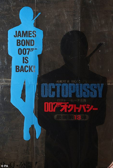 The poster for the 1983 James Bond film Octopussy went into auction with an estimate of £500-£700