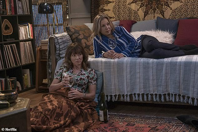 Twisted: Judy insinuates herself into Jen's life to the point of moving in with her, all the while knowing she is the one who widowed her new roommate