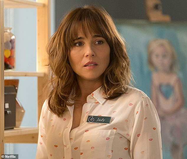 Who's who: Linda Cardellini stars on the show as Judy, a woman who loses her fiance to a heart attack and also kills a man called Ted in a hit-and-run