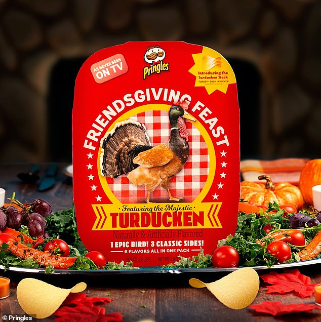 Yum!The brand will sell a limited number of Friendsgiving Feast Turducken trays for $15.99 starting Thursday at 12 p.m.
