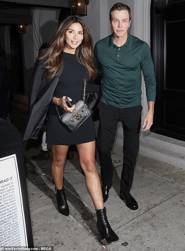 Pia Miller, 36, has reportedly been dating agent Patrick Whitesell, 54, since May.Whitesell is seen holding hands with Miller after leaving dinner at Craig's in LA on Tuesday