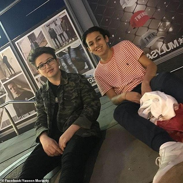 Yaseen and Yousef (pictured together) were academically-gifted, mixed-race boys from aspirational single-parent families who became best friends