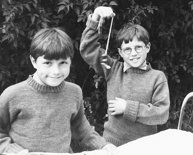 Alex and Marcus Lewis (pictured as young boys) were also 'passed around' by their mother to a series of upper-class sexual deviants until the age of around 14