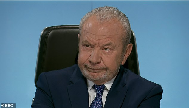 Hopeful: Iasha also revealed how she'd react if Lord Sugar now became interested in investing