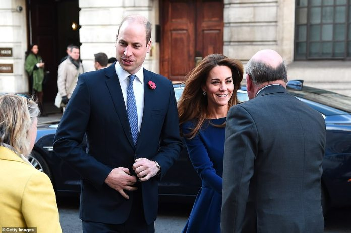 The Duke and Duchess of Cambridge attend the launch of the National Emergencies Trust at St Martin-in-the-Fields today