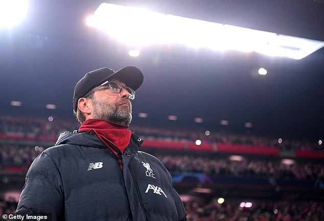 Klopp led Liverpool to Champions League fame last season and took it to the top of the league
