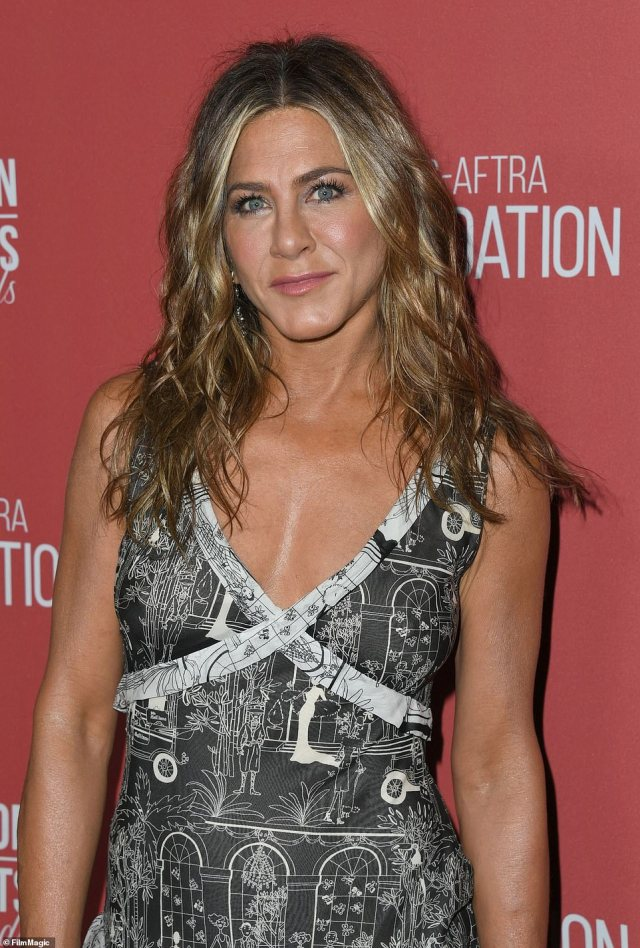 Platform: Aniston, who's hinted about 'something' in the works with her Friends co-stars, broke the Internet when she joined Instagram last month and shared a selfie with all five of them