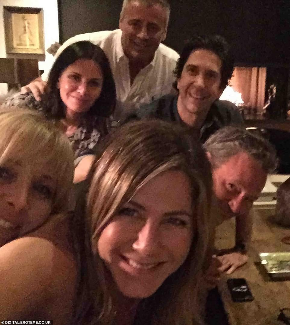 Together again! On October 15, she broke the internet when she joined Instagram with a group selfie of all of her fellow former co-stars