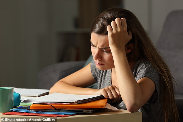 No exams took place last summer, with GCSE and A-level grades based on teacher assessments [File photo]