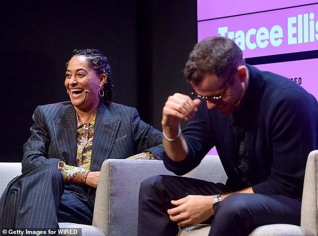 Pictured: Tracee Ellis Ross (left) and Moressi (right) at Wired25 where they discussed creating commerce and user shopping on Instagram