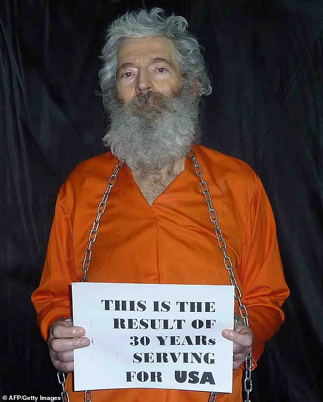 Iran has admitted for the first time it has an open case against former FBI agent Robert Levinson. He is pictured in a series of images obtained by Radio Free Europe/Radio Liberty group which handed them over to Levinson's wife Christine in April 2011, who opted not to release them at that time. It is not clear how Radio Liberty came into possession of the photos, taken after Levison was taken hostage