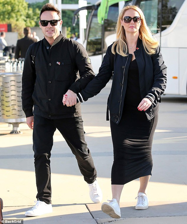He is back! Ant McPartlin went hand in hand with his girlfriend Anne-Marie Corbett when he returned to Australia before launching I & A in Celebrity next week