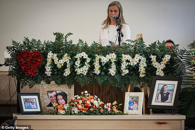 The funeral of Christina Maria Langford Johnson took place on Saturday, during which her family and relatives mourned her passing.