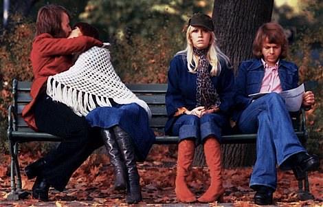 The ABBA original pose