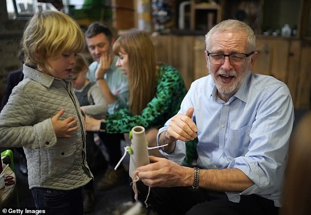 This comes after Lord Sugar estimated that Mr Corbyn (pictured yesterday) was 'worth more than £1m' if all his assets were added together