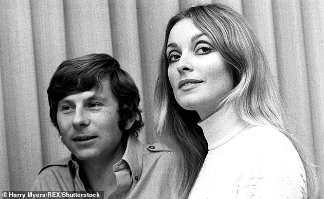 The murders have recently been made into a film set to be released later this month, Once Upon a Time in Hollywood, by director Quentin Tarantino (pictured,Polanski with Sharon Tate)
