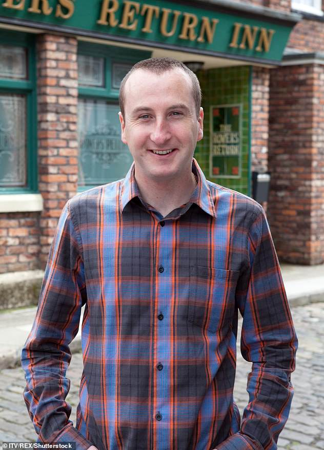 ANDREW WHYMENT: The name of the rumor started circulating on Sunday with the name of Coronation Street star, Kirk Sutherland, screened in the ring