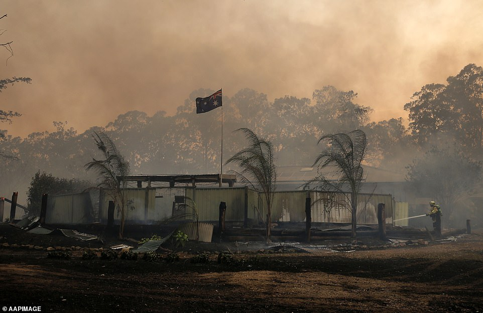 Thousands Of People Rally In Smoke Choked Sydney As Bushfires Burn