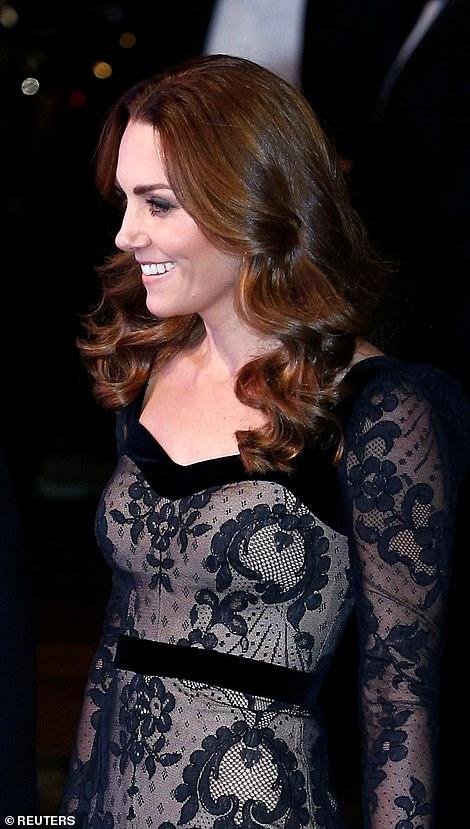 The duchess is a big fan of designer Alexander McQueen, who designed her stunning wedding dress in 2011