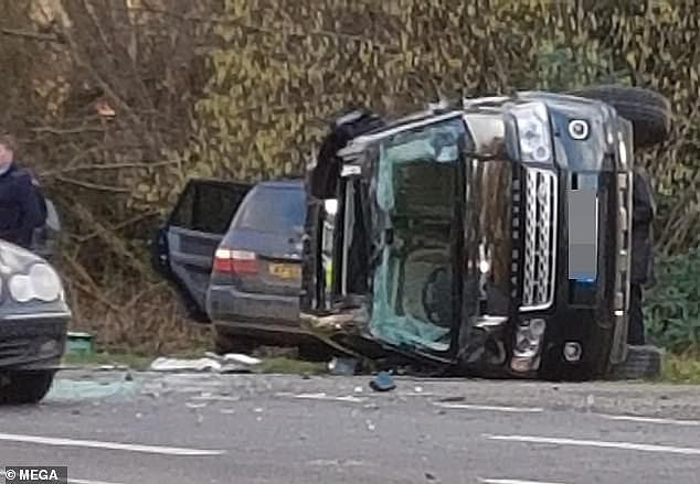 It began with a car crash near Sandringham in January, in which the then 97-year-old Duke of Edinburgh — far too elderly to be at the wheel of a car — was involved in a collision in which a woman broke her wrist, another was hospitalised, and a nine-month-old baby could very well have been killed, writes A. N. WILSON