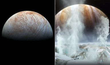 NASA confirms water is present under the ice of Jupiter's moon Europa