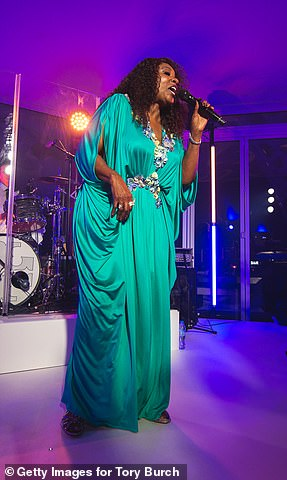 Legend: Gloria Gaynor was nominated in the Best Roots Gospel Album category for Testimony (she is seen in Dubai last month)