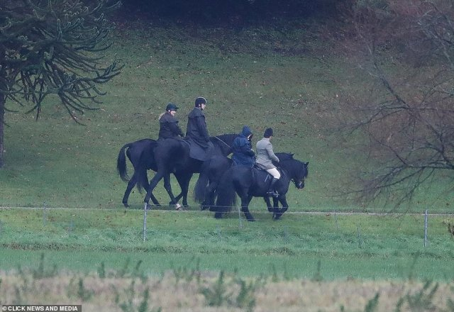After visiting the Soloman Islands tomorrow, Charles will fly home to face an expected showdown with brother Prince Andrew over the Epstein scandal. The Duke of York is pictured horse riding with the Queen at Windsor Park on Friday