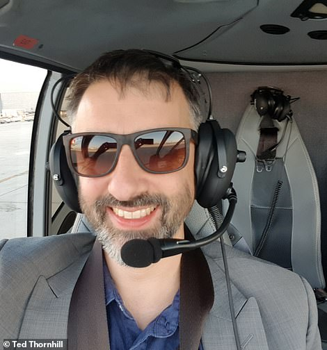 One of the best things about helicopter flights is being able to listen in to air traffic control commands through the headset